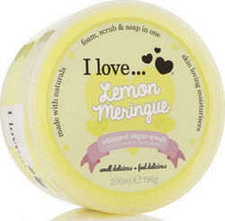 I Love Cosmetics Lemon Meringue Whipped Sugar Scrub 200ml