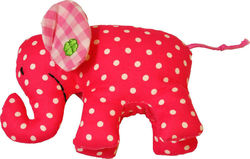 Kathe Kruse Mini Elephant Ρόζ