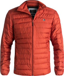 Quiksilver Scaly Full Water-Repellent Puffer Jacket Rooibos Tea