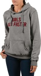 Emerson Women's hooded sweat 172.EW20.82 - GREY ML