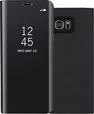 View Edge Clear Stand Μαύρο S7 galaxy Cover