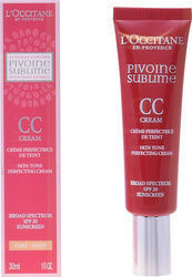 L'Occitane Pivoine Sublime CC Cream Light 30ml
