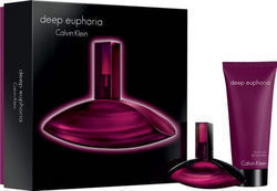 Calvin Klein Deep Euphoria Eau de Parfum 30ml & Shower Gel 100ml