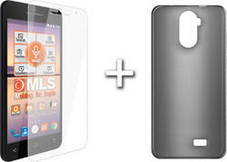 MLS Transparent Black + Protective Film (F5)