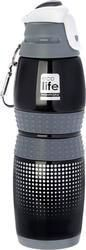 Ecolife Thermos Bottle Black 0.4lt