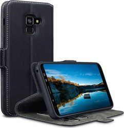 Terrapin Low Profile Wallet Mαύρο (Galaxy A8 2018)