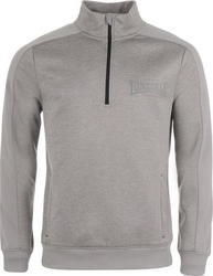 Lonsdale Poly Quarter Zip Jacket 555019 Grey Marl