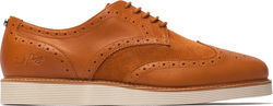 Fred Perry Newburgh Leather / Suede Brogue (B9082)