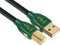 Audioquest USB 2.0 Cable USB-A male - USB-B male 0.75m (Forest)