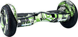 Rooder Hoverboard R807h Off Road 10.5'' Graffiti Green