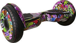 Rooder Hoverboard R807H Off Road 10.5'' Hip Hop Purple