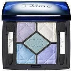 Dior 5 Couleurs Eyeshadow Palette 130 Blue Croisette