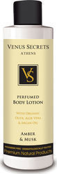 Venus Secrets Perfumed Body Lotion Amber & Musk 250ml