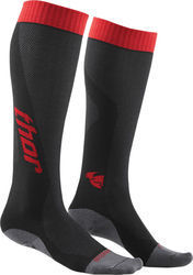 Thor MX Cool Sock Charcoal Red