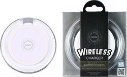 Remax Wireless Charging Pad (Qi) Λευκό (RPW1W)