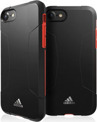 Adidas Solo Back Cover Μαύρο/Κόκκινο (iPhone 8/7)