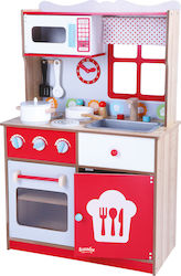 Gerardo's Toys Wooden Kitchen Scarlet