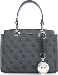 Guess Jacqui Small Satchel HWSG6965050 Dark Grey