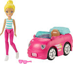 Mattel Barbie On The Go Pink Car and Doll