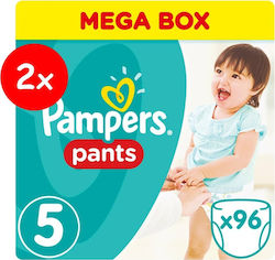 Pampers Pants No 5 (12-18kg) 2x96τμχ