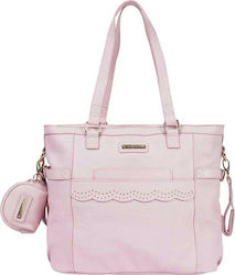 Mayoral Leatherette Changing Bag and Dummy Case Pink
