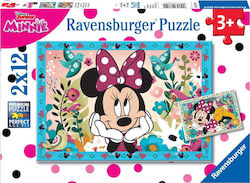 Flowers for Minnie 2x12pcs (07619) Ravensburger