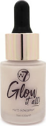 W7 Cosmetics Glow It All! Multi-Glow Serum Pink About It 15ml