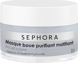 Sephora Collection Masque Boue Purifiant Matifiant 30ml
