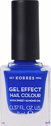 Korres Gel Effect Nail Colour 86 Ocean Blue