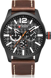 Curren 8247 Brown / Black / Silver