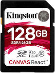 Kingston Canvas React SDXC 128GB U3 V30 A1