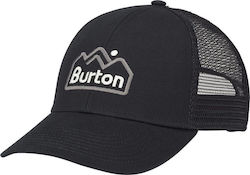 BURTON TREEHOPPER SNAPBACK HAT TRUE BLACK