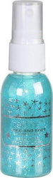 Technic Face & Body Shimmer Spray Blue 30ml