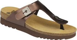 Scholl Boa Vista Up Sandal Brown