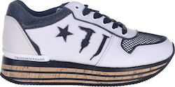 TRUSSARDI SNEAKERS 79A00149-WHITE