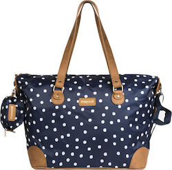 Mayoral Folding Canvas Changing Bag Blue