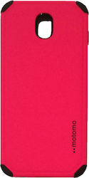 Motomo Back Cover Πλαστικό Hot Pink (Galaxy J3 2017)