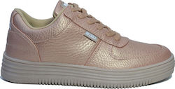 Παπούτσια Casual Xti 41413 NUDE METALLIC