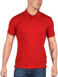 Keep Out Polo T-Shirt Ανδρικό Red KO-1500 1685521