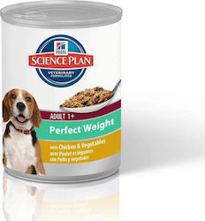 ΚΟΝΣΕΡΒΑ HILL'S SP CANINE ADULT PERFECT WEIGHT CHICKEN & VEGETABLES - 363GR