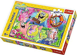 Residents of Bikini Bottom 100pcs (16300) Trefl