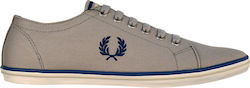 FRED PERRY SNEAKER KINGSTON TWILL - ΓΚΡΙ (B6259U-1964)