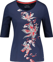 T-SHIRT GERRY WEBER(Blue) 670083-44058 Blue