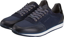 BOSS SHOES J20101 BLUE SPORTY