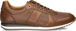ΑΝΔΡΙΚΑ SNEAKERS BOSS SHOES (TABAC) J20040