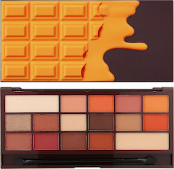 Revolution Beauty I Heart Makeup I Heart Chocolate Chocolate Orange