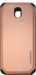 Motomo Back Cover Πλαστικό Rose Gold (Galaxy J7 2017)