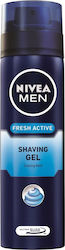 Nivea Fresh Active Shaving Gel Cooling Mint 200ml