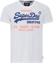 Superdry Shop Tri T-Shirt White