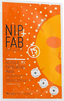 Nip+Fab Glycolic Fix Exfoliating Mask 18gr